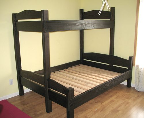 Bunk bed based on simple bed plans