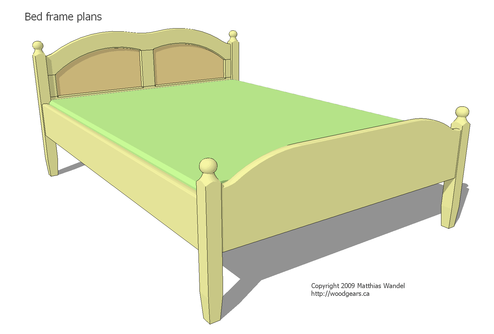 Double bed plans - Bed desine double bed ...