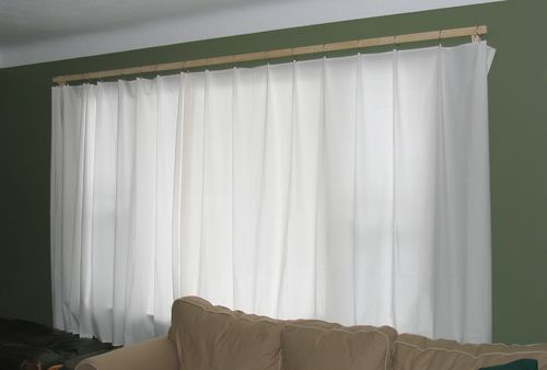 Curtain Rods cheapest place to buy curtain rods : Cheap and simple curtain rods