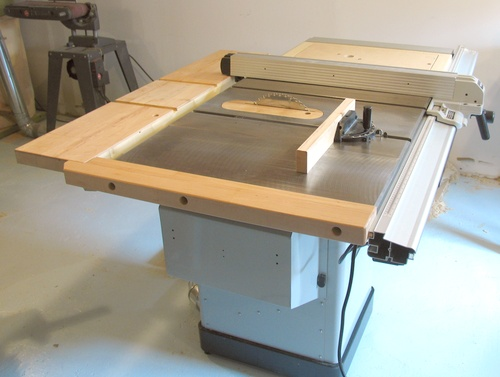 My Delta Hybrid Table Saw