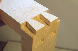 Wood Dovetail Joinery