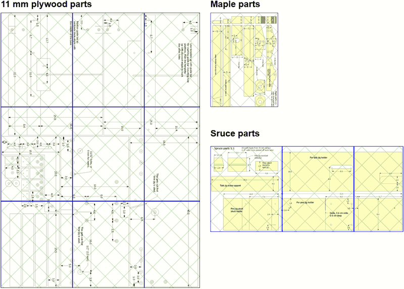 28 what size paper are blueprints printed on what