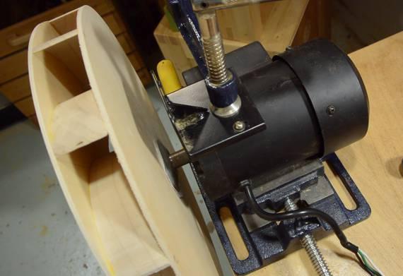 Oil Blower Impeller Housing : Building a dust collector blower