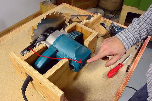 Homemade table saw build lift mechanism for How to get motor oil out of wood