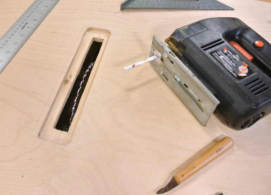 Homemade Table Saw Angle Lock And Table Saw Inserts