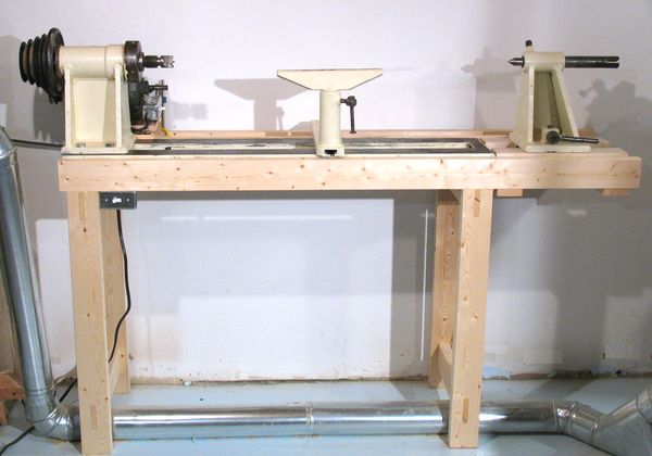 Homemade Lathe Stand Plans