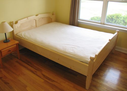 queen size bed construction