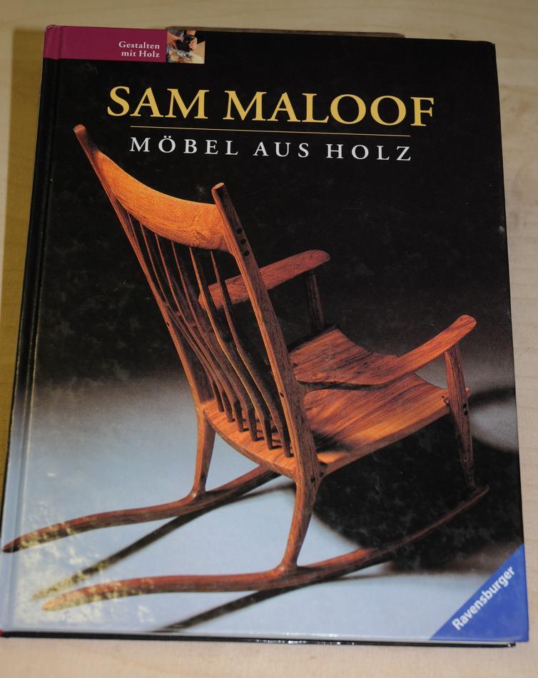hessam sane u0026 39 s sam maloof style sculpted rocking chair