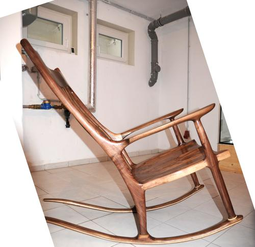 Hessam also points to this link on drawing a Sam Maloof style rocker in Google Sketchup: