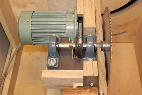 Table Saw Gears : Pekka s table saw revised