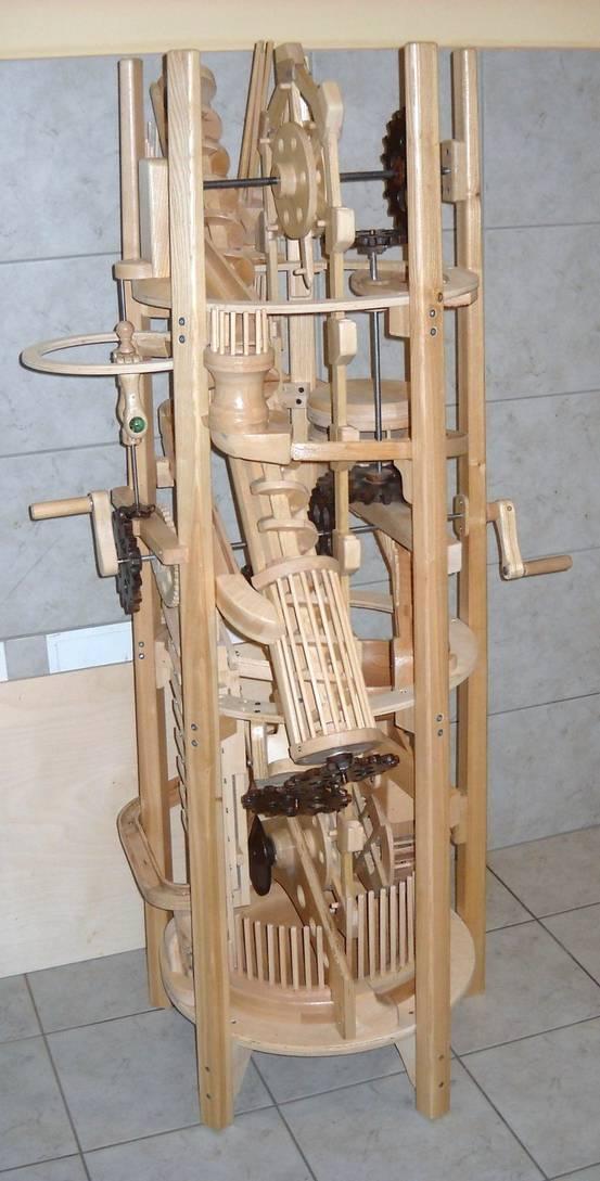 Ryszard S Archmedes Marble Machine