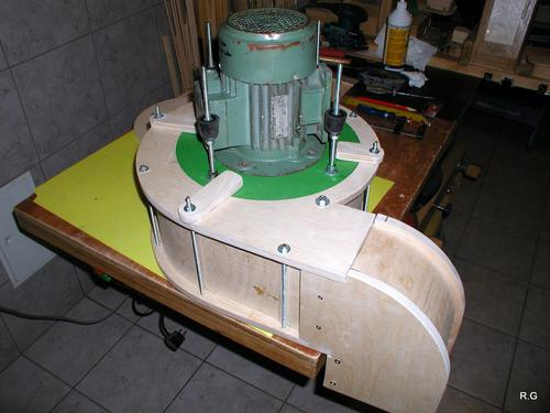 Ryszard 39 s dust collector build part 2 the blower for Dust collector motor blower