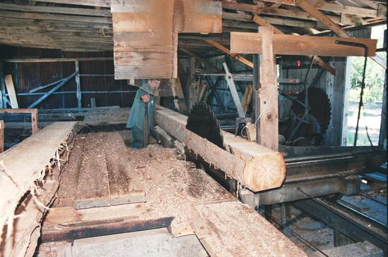 My dad's old sawmill