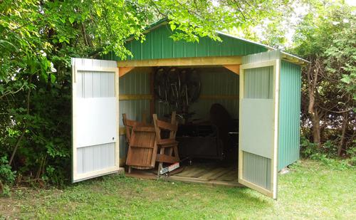 Backyard shed build for Building an office shed in the backyard