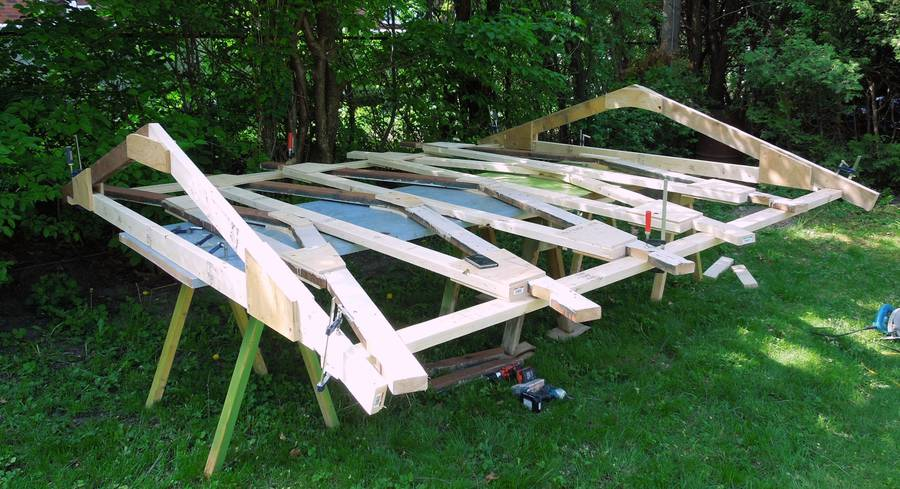 Building A Shed Continued