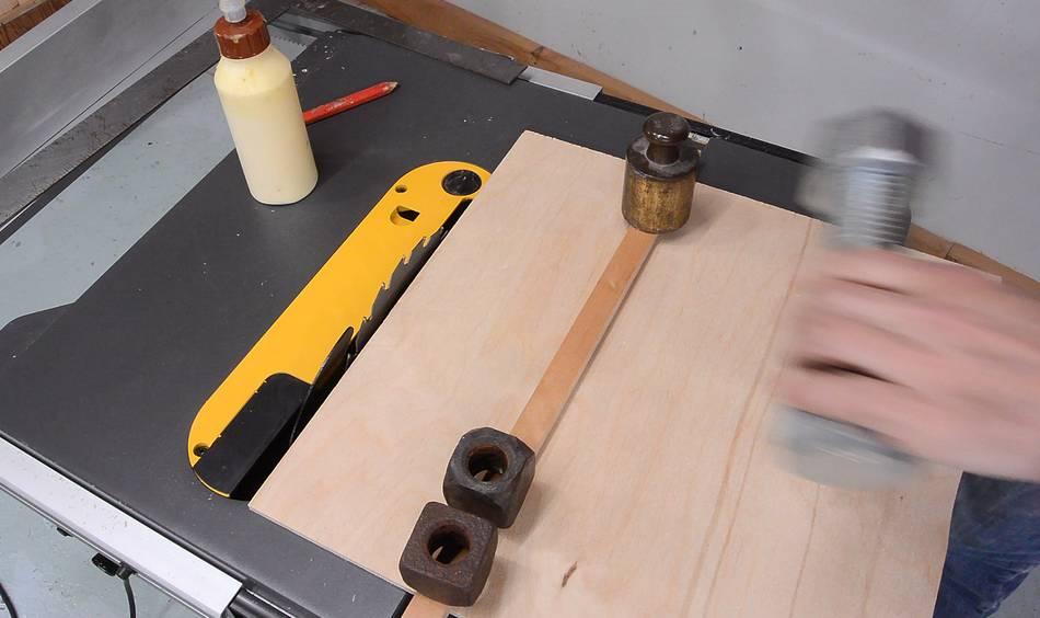 Making A Table Saw Sled For The Dewalt Flexvolt Saw