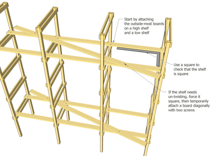 shelf plans free free woodworking plans projects – Get free plans ...