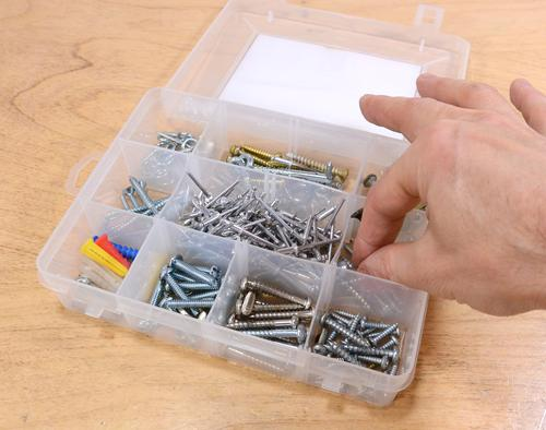 Parts Sorting With Removable Bins