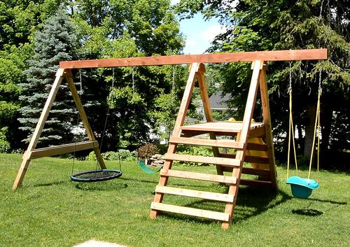 Swing Set Build