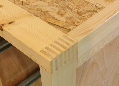 What Tool Is Used To Finish Corners Of Wooden Furniture