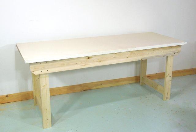 Comment construire facilement un tabli solide - Comment construire un etabli ...