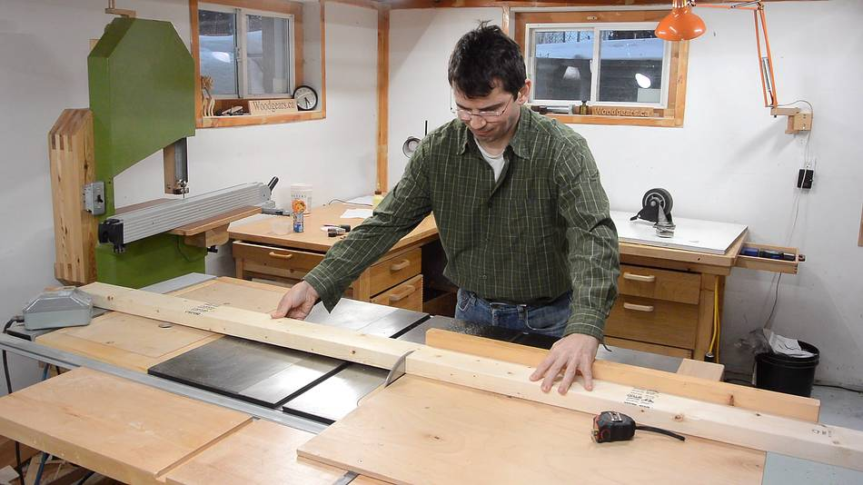 how to build a workbench on wheels